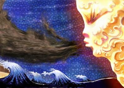Wind Blows Illustration Ola Gustafsson