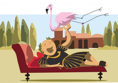 Rome Vector Illustration Ola Gustafsson Illustration