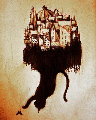Pencil drawing by Ola Gustafsson