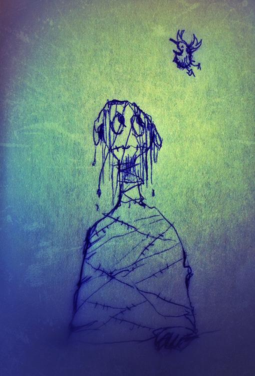 Drawing by Ola Gustafsson